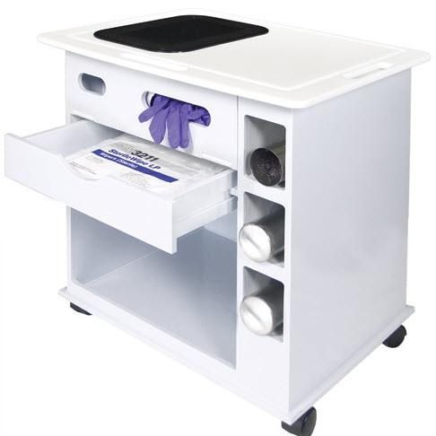 NuAire ProGard NU-96 Polypropylene Laboratory Supply Cart