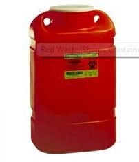 NuAire Red Waste/Sharps Container