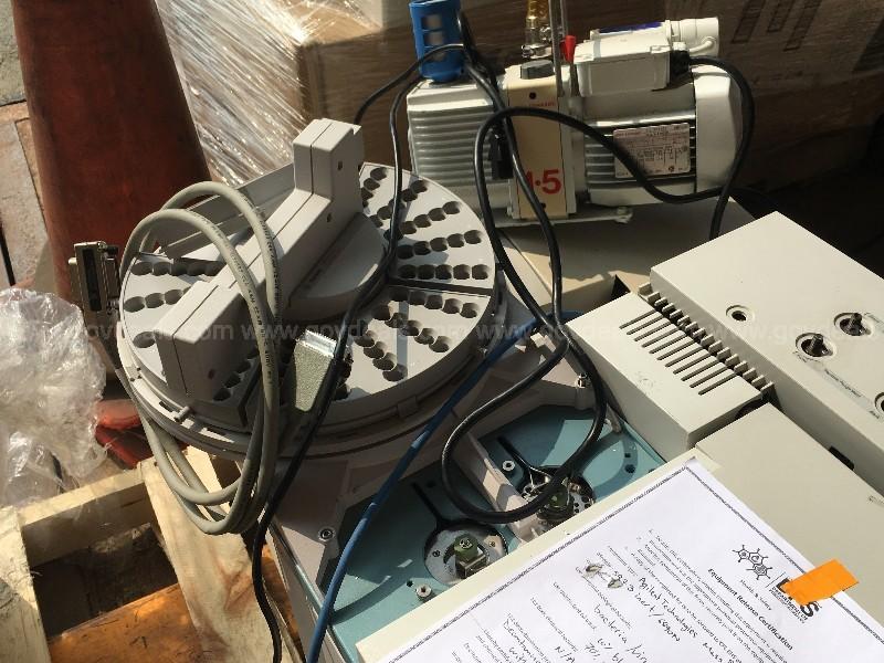 Agilent 6890N Gas Chomatograph and Agilent 5973 Mass Selective Detector