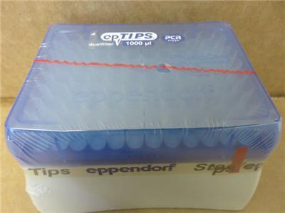 Eppendorf 022491253 Dualfilter Pipet Pipette Tips 50-1000uL Lot of 672 Tips Total? Out Of Date