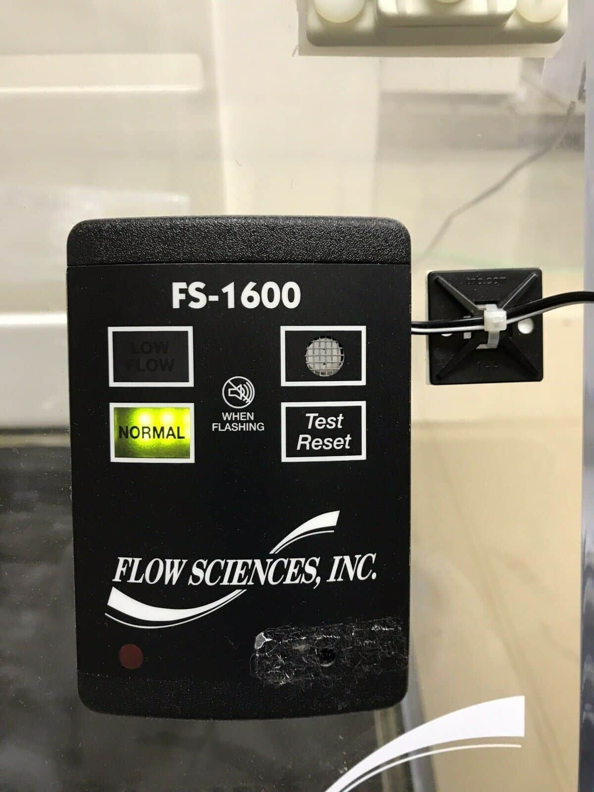Flow Sciences FS2015BK 3ft Benchtop Hood With Blower