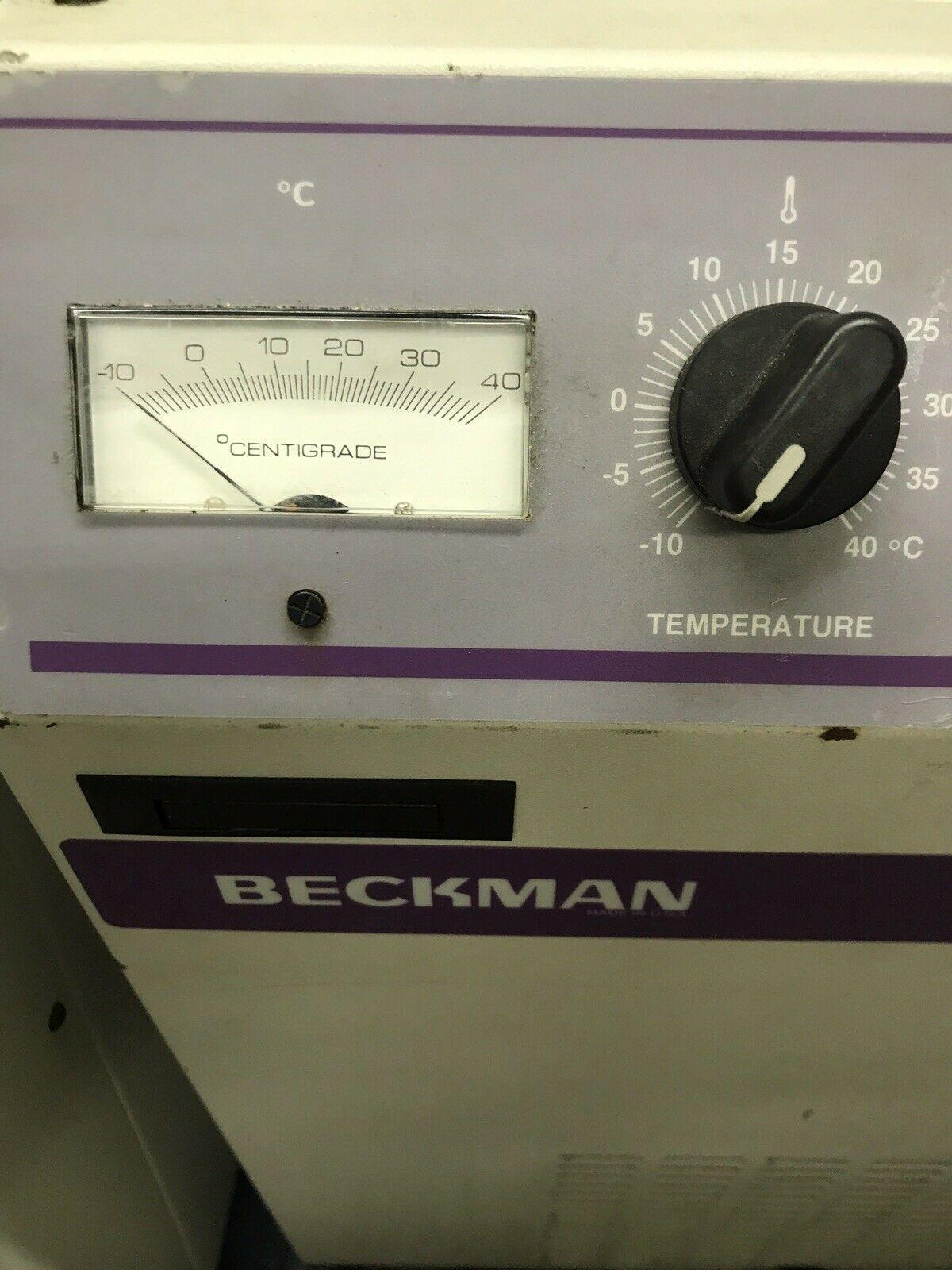 Beckman Allerga 6KR Centrifuge Tested Working (Refrigerated Model)