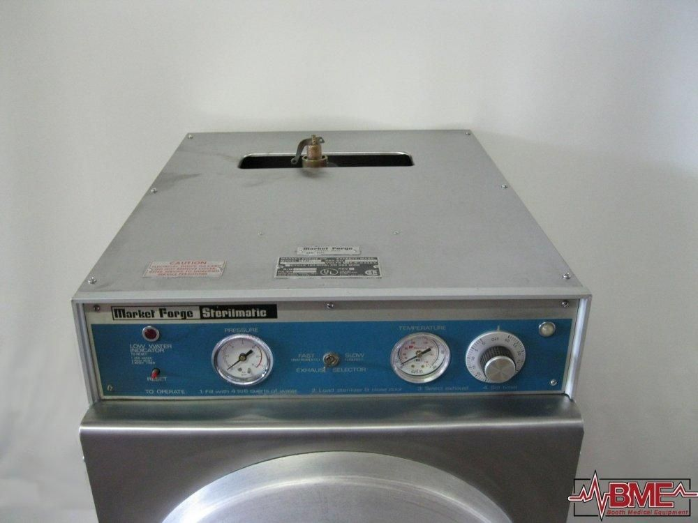 Market Forge STM-E Sterilmatic Autoclave Sterilizer Refurbished - Boothmed