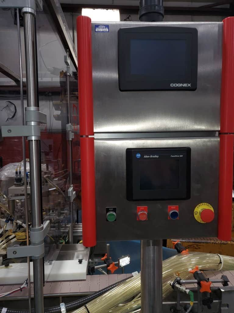 Capmatic Liquid filling machine  INTREPID