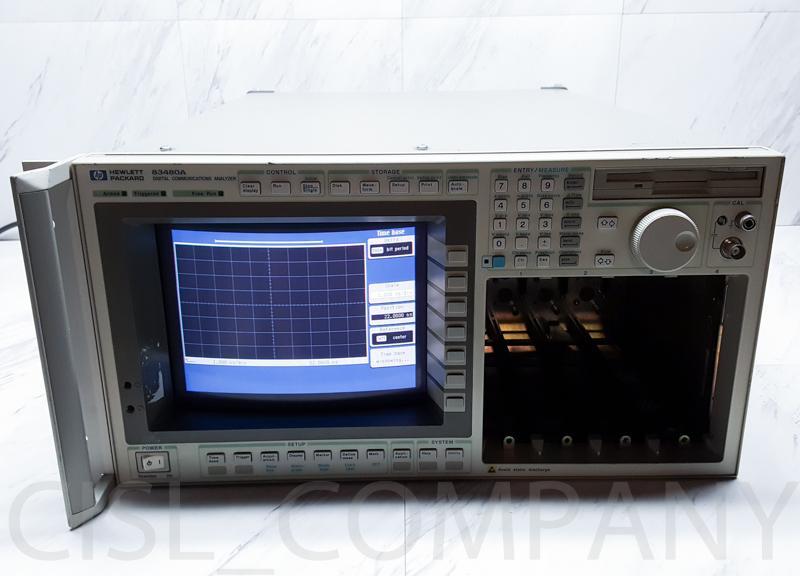 HP 83480A Digital Communications Analyzer Oscilloscope Modular Mainframe