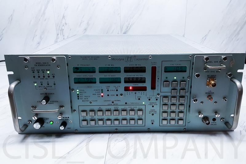 Microdyne 1200-MRA Telemetry Receiver w/ Modules 1214 VT & 1244-D