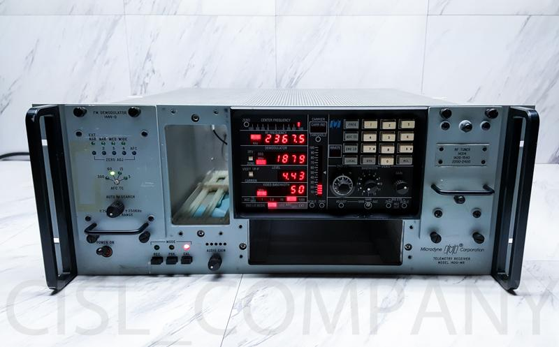 Microdyne 1400-MR Telemetry Receiver w/ 1444-D FM Demodulator & 14314 RF Tuner