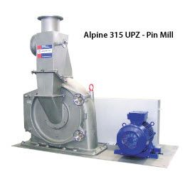 Alpine UPZ Fine Impact Mills