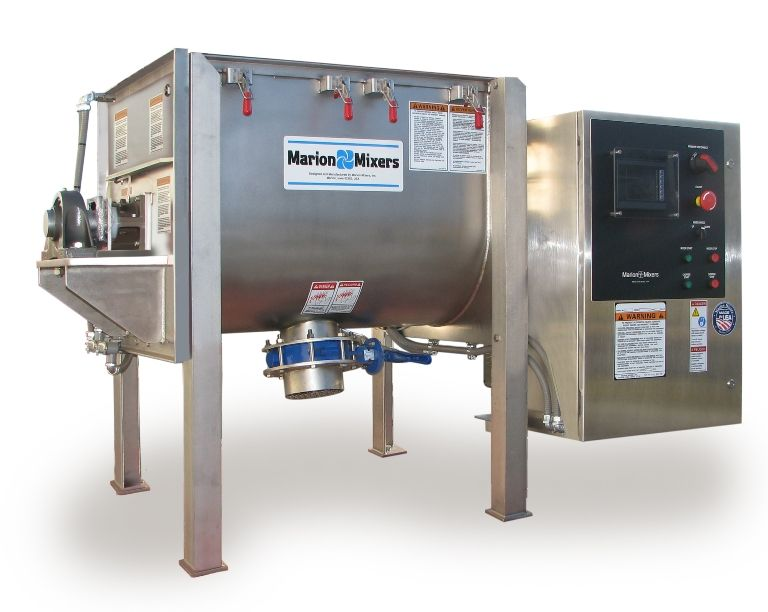 New Marion Sanitary Batch Mixer for Bulk Powder
