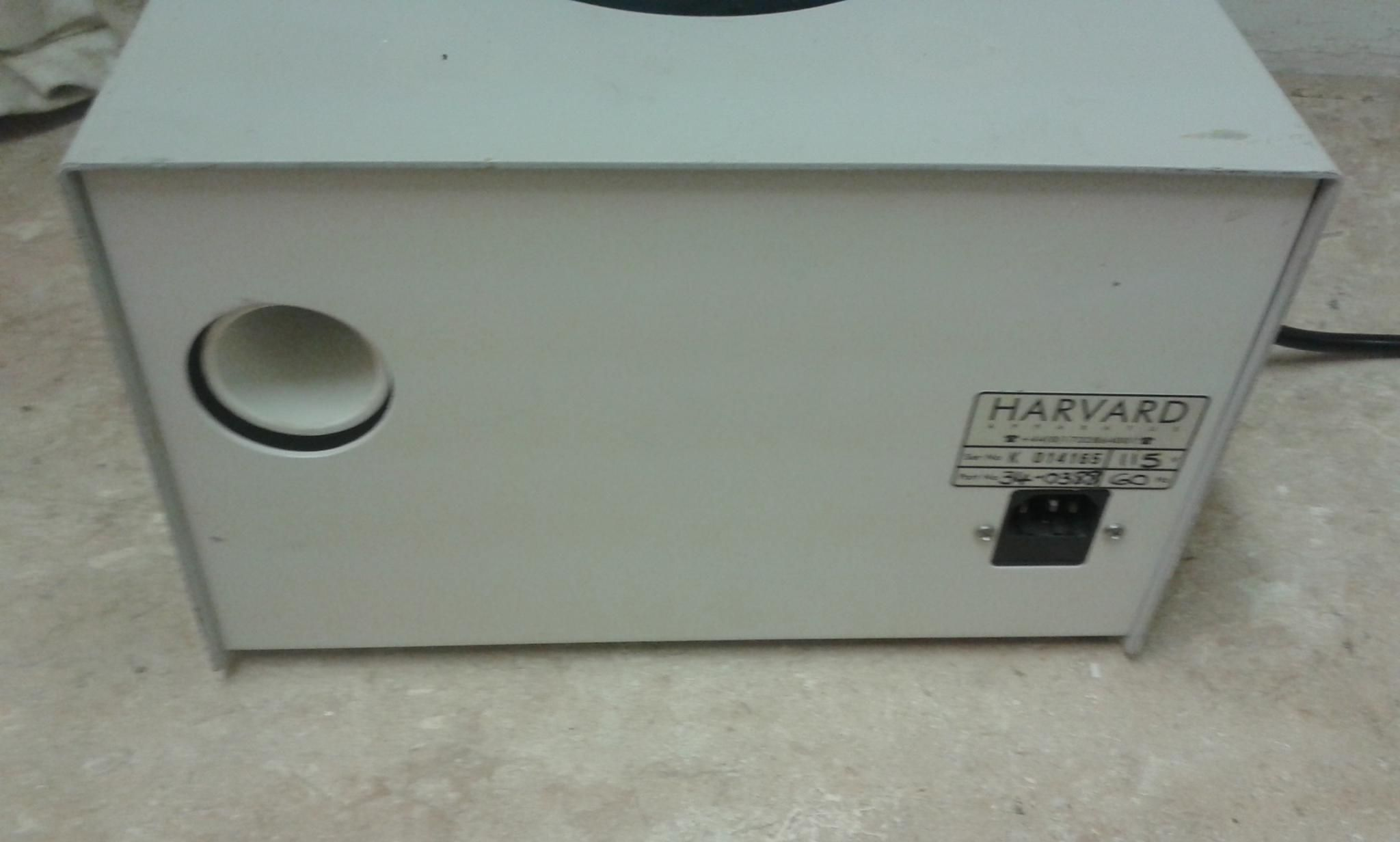 Harvard Apparatus Fluovac System model 34-0388