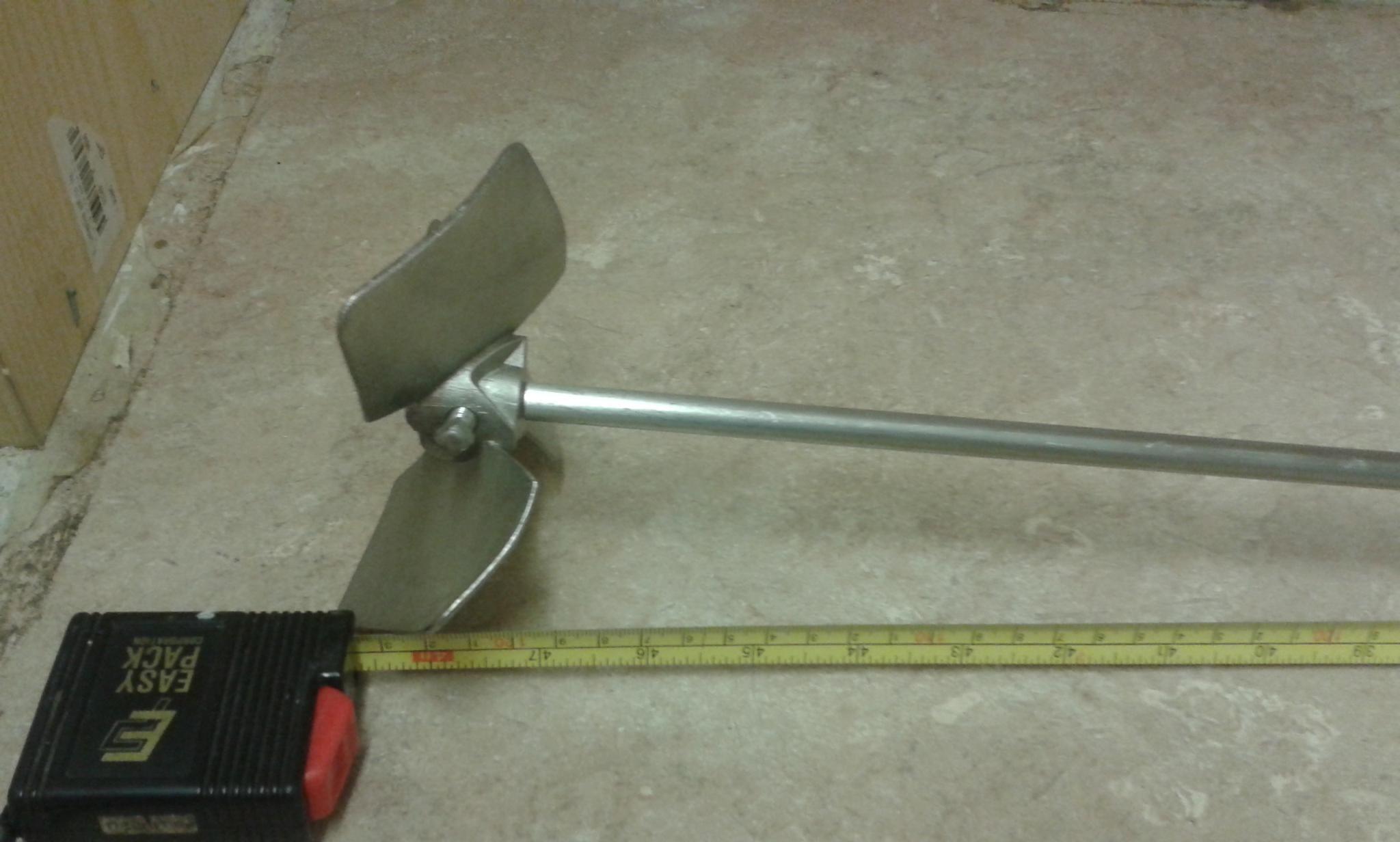 New overhead Stainless steel Propeller