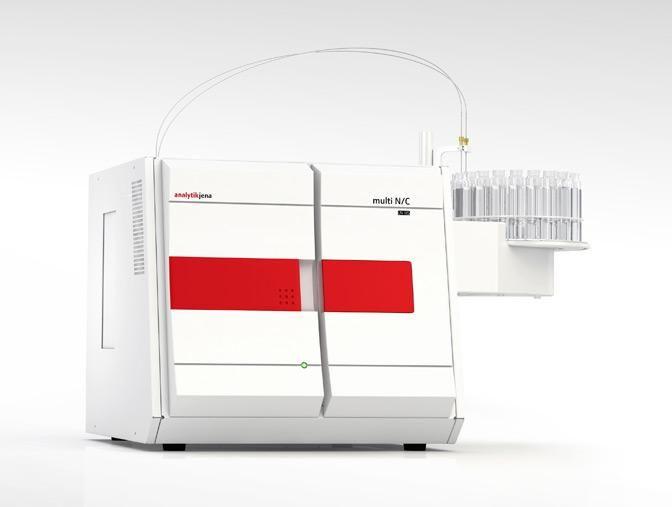 Analytik Jena: multi N/C  UV HS TOC Analyzer