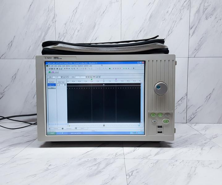 Agilent Keysight 16802A 68-Channel Portable Logic Analyzer w/ Installed Options