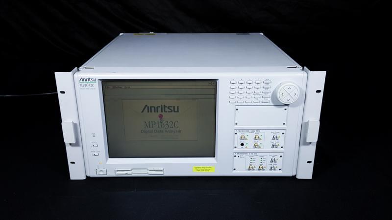 Anritsu MP1632C Digital Data Analyzer w/ Modules: MU163220C, MU163240C, OPT 01,02,03