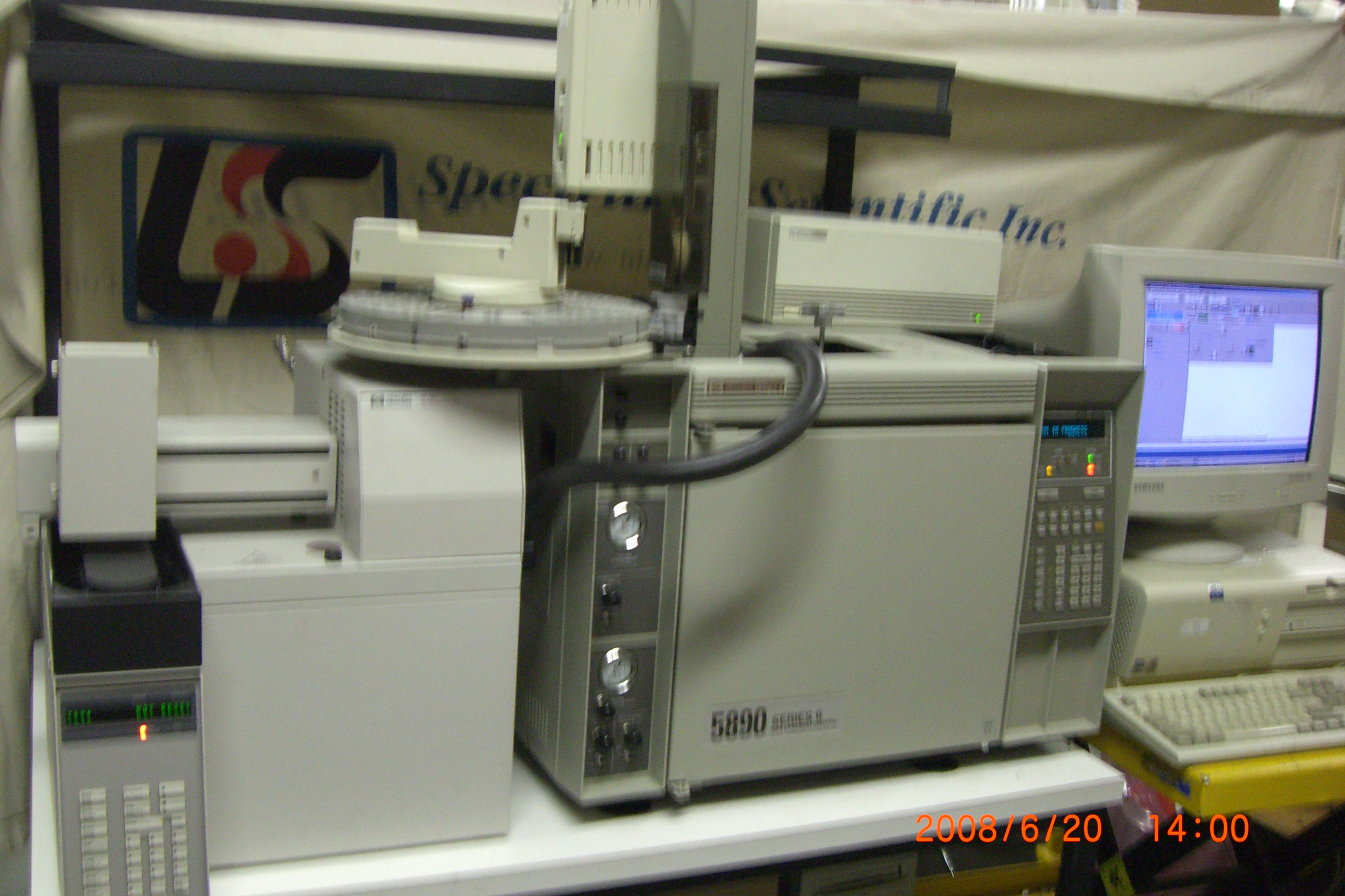 HP 5890 II GC with Headspace sampler 7694