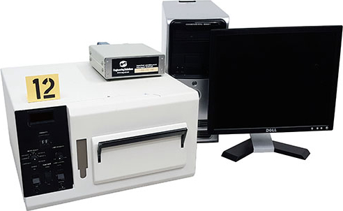 AG Associates 610 RTP Rapid Thermal Processor. Benchtop system for