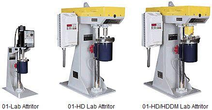 Union Process 01 Series Research Attritors