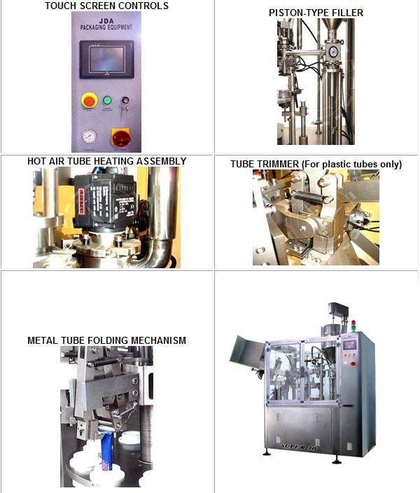 JDA Super 30  Tube Filling / Sealing Machine