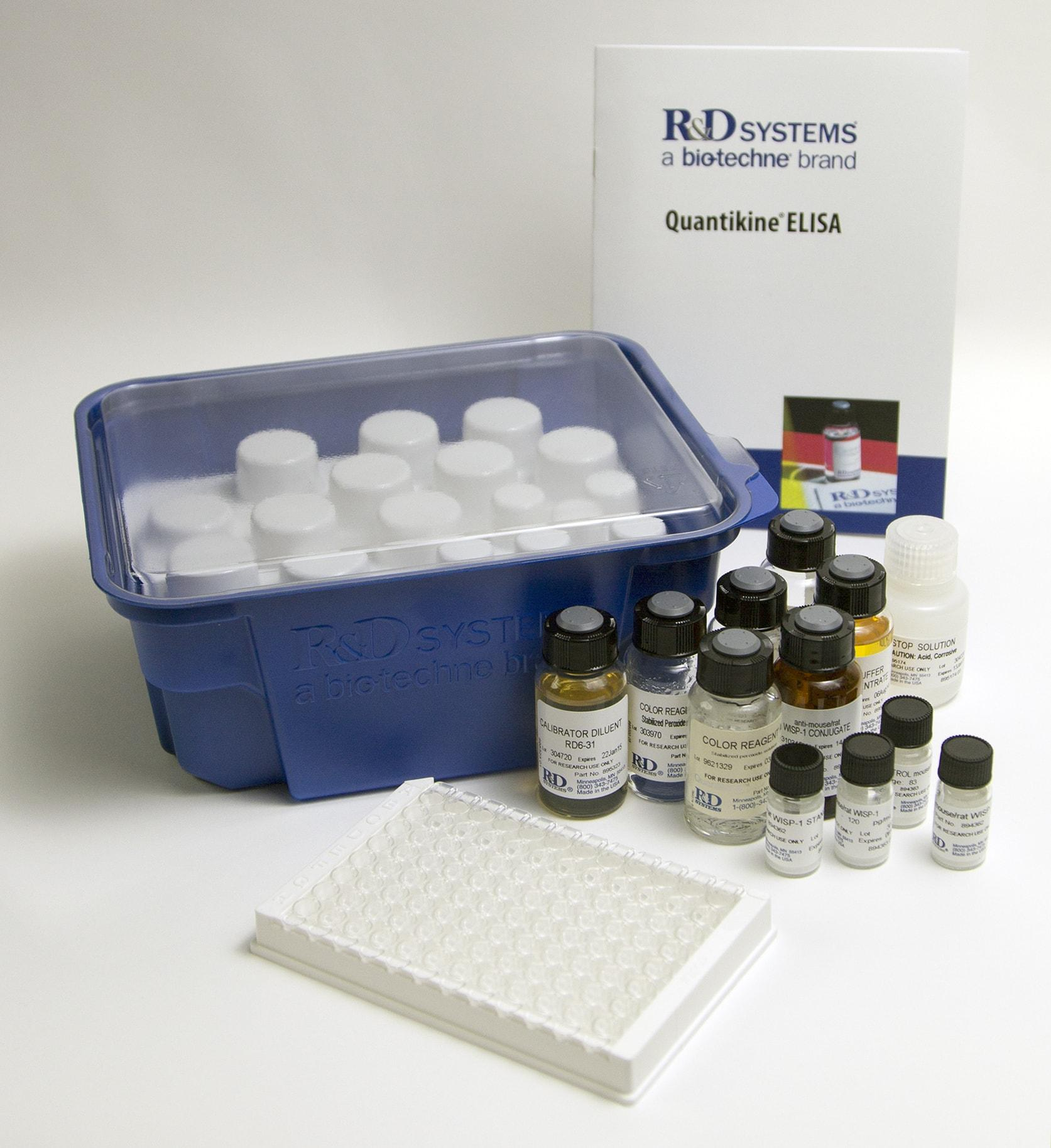 R&D Systems: Rat IL-1 beta/IL-1F2 Quantikine ELISA Kit