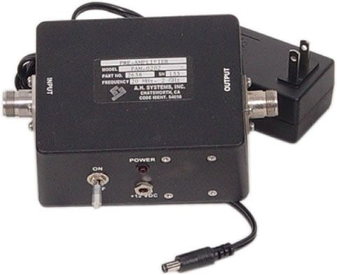 AH Systems PAM-0202 Preamplifier 20 MHz - 2 GHz