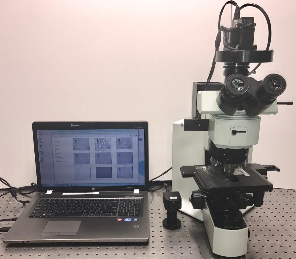 Olympus BX 51 Microscope with Multispectral Camera