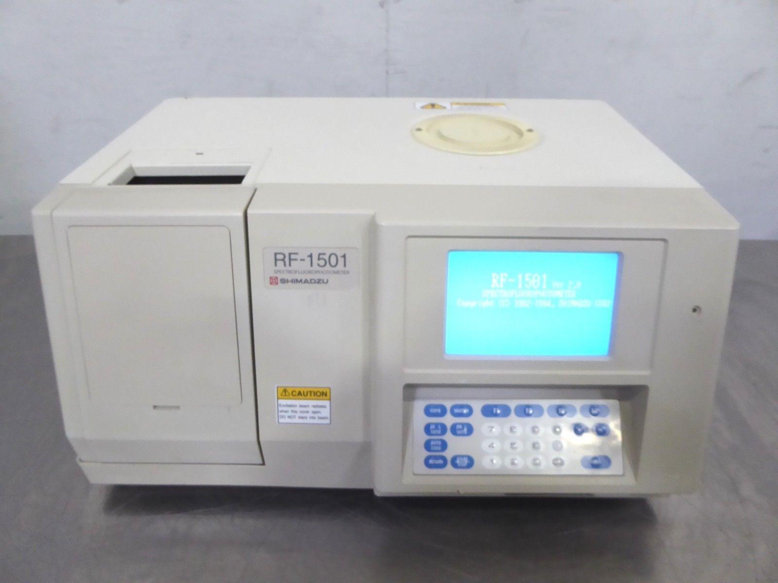 A147404 Shimadzu RF-1501 Spectrofluorophotometer System 206-62901-92
