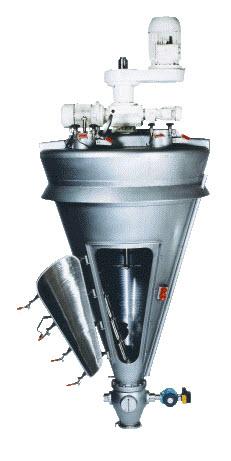 Hosokawa Vrieco-Nauta Conical Screw Mixers