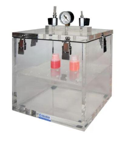 Cleatech- Vacuum Desiccator Removable Lid Clear Acrylic 10WX10DX8H