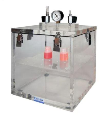 Cleatech- Vacuum Desiccator Removable Lid Clear Acrylic 11WX8DX10H