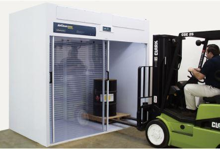 AirClean Systems- Walk-In Free-Standing Ductless Enclosure