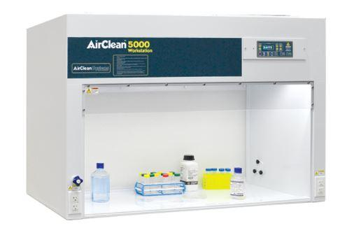 AirClean Systems- Polypropylene Horizontal Laminar Flow Clean Benches