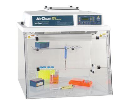 AirClean Systems- Combination PCR Workstation