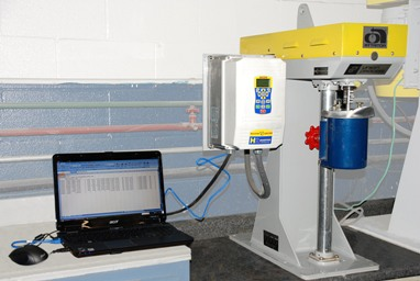 Union Process Attritor Data Acquisition Package