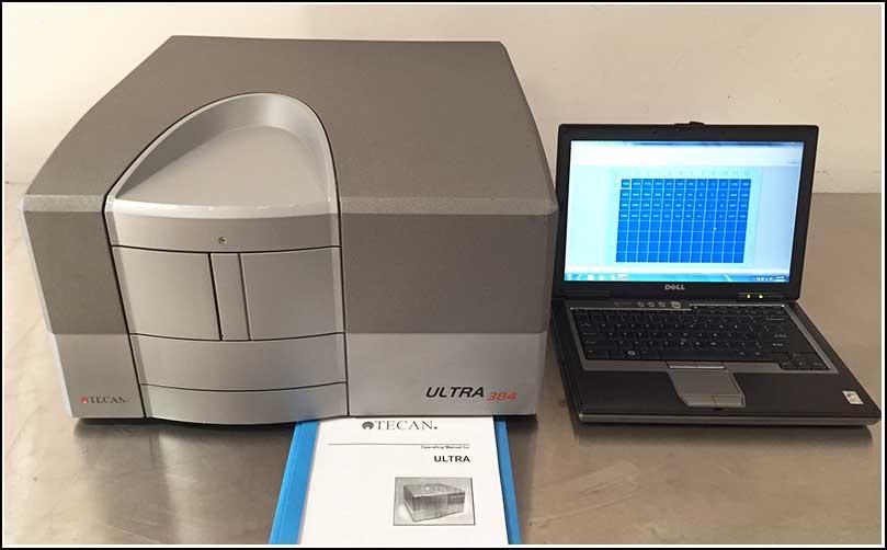 Tecan Ultra Evolution 384 MultiMode Microplate Reader w WARRANTY