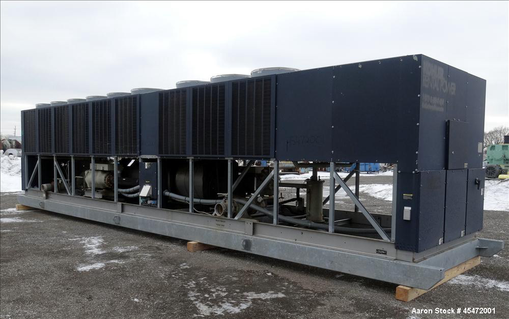 Trane Co RTAC 3004 Air Cooled Chillers Used- Trane Air Cooled Helical