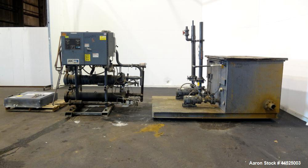 AEC NECR-2-40 Air Cooled Chillers Used- NEC Series Air Cooled Central