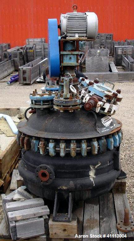 Pfaudler  Glass Lined Reactors Used- Glass Lined Reactor, 50 gallon,
