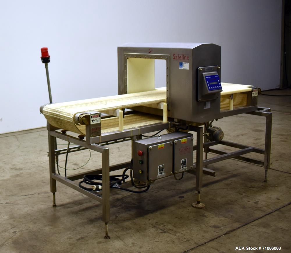 """Safeline  Metal Detectors - Conveyor Mounted Used-Metal Detector. 16"""""""