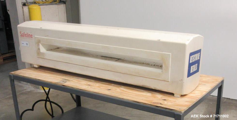 Safeline PowerPhase Metal Detectors - Head Only Used- Model Pro Metal