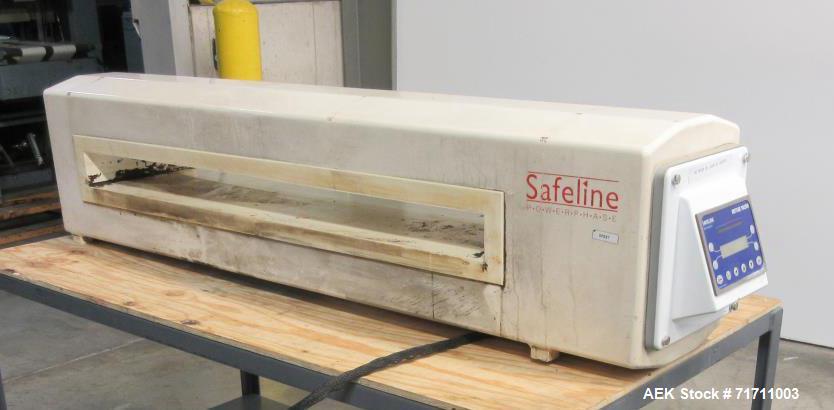 Safeline VE-PW-100/ Metal Detectors - Head Only Used- Model 300 Metal