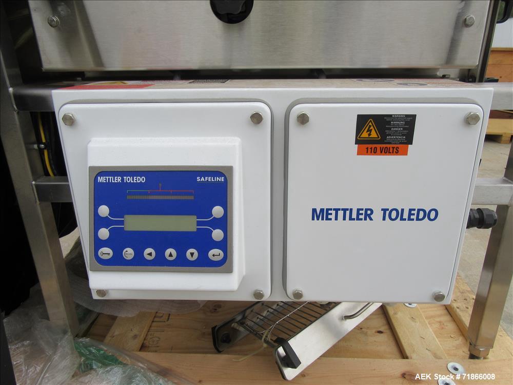 Safeline  Metal Detectors - Pipeline - Free Flowing Used- Metal