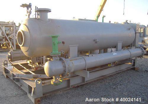 FES 480E Refrigeration Equipment Used- Chiller, Model . Ammonia