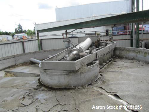 Krofta  Water Treatment Equipment Used- 24' Diameter SP24 Stainless