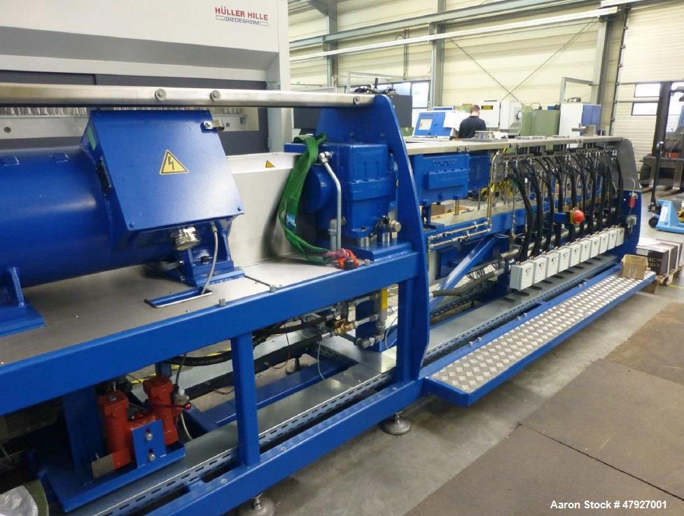 Extruders - Twin Screw CoRotate Unused- Feddem Extruder FED 52 MTS
