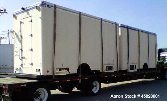 Freezers Used- 17' Reefer/Freezer Pull Trailer. Cold plate