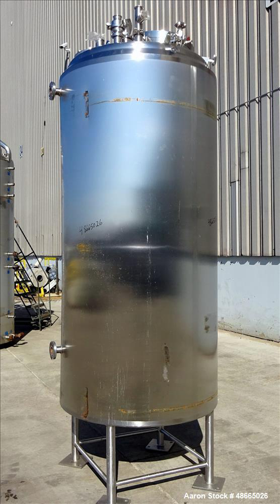 Stainless Steel Reactors Used- Feldmeier Reactor, Approximate 500