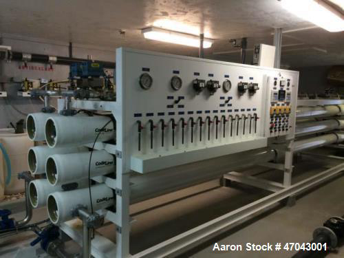 Water Treatment Equipment Used- Reverse Osmosis System. Twin system