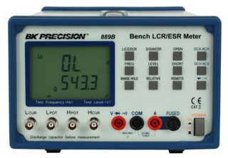 B&K Precision Model 889B Bench LCR/ESR Meter with Component Tester