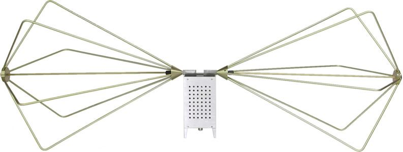 AH Systems SAS-543 High Power Biconical Antenna