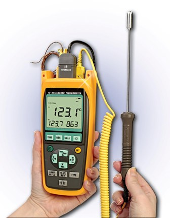 Omega Thermocouple and RTD Thermometers HH100